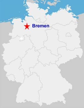 On To A New Chapter My New Life In Northern Germany - Germany map bremen